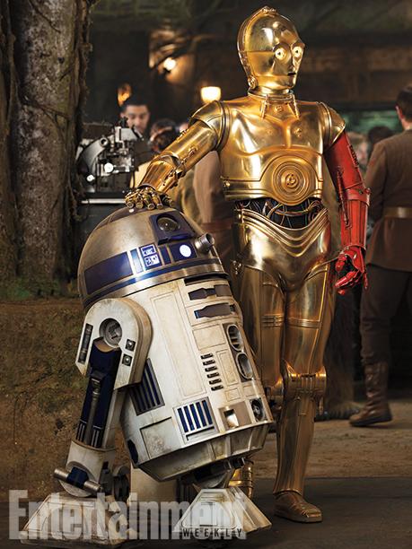 Star Wars: Episodio VII - Il Risveglio della Forza: R2D2 e C-3P0