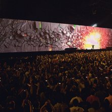 Roger Waters The Wall: un'immagine tratta dal film evento dedicato al tour di The Wall Live