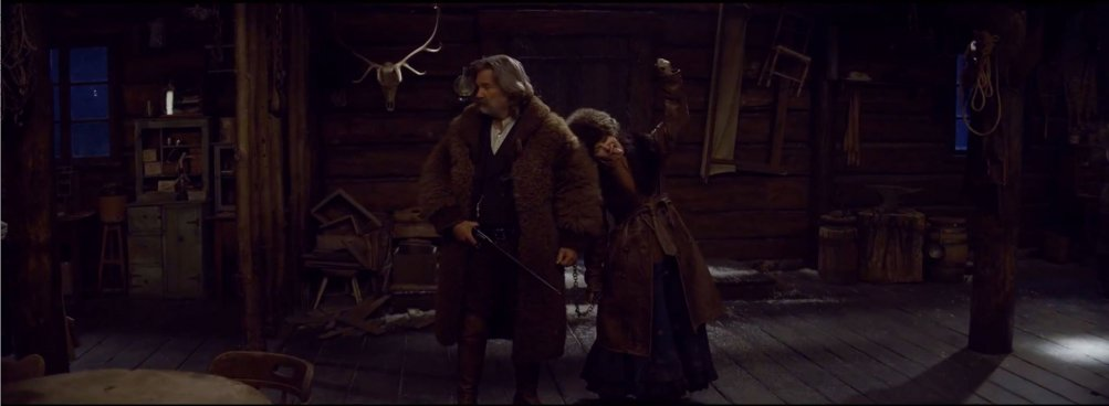 The Hateful Eight, Kurt Russell e Jennifer Jason leigh