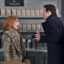 Difficult People: una divertente immagine dei protagonisti Julie Klausner e Billy Eichner