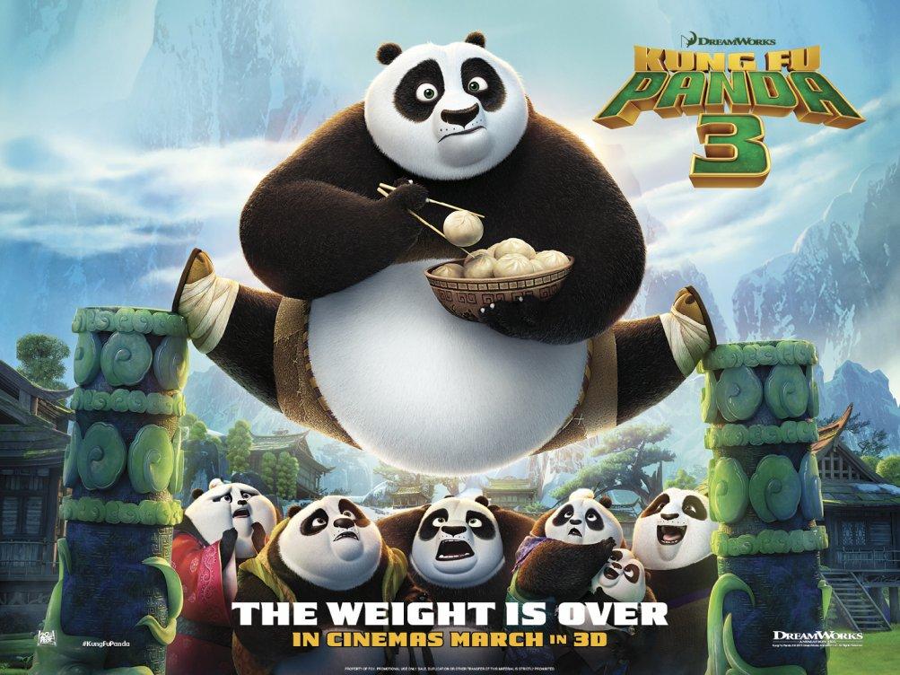 Kung Fu Panda 3: un nuovo poster del film animato