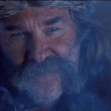 The Hateful Eight: un primo piano di Kurt Russell nel teaser trailer del film di Tarantino