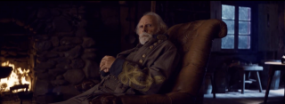 The Hateful Eight: Bruce Dern in una scena del teaser trailer del film di Tarantino