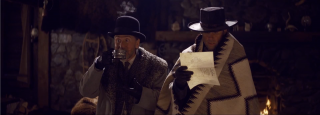 The Hateful Eight: in una scena del teaser trailer del film di Tarantino