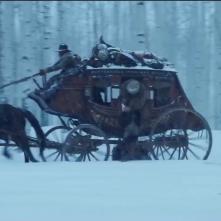 The Hateful Eight: un'immagine suggestiva del teaser trailer del film di Tarantino