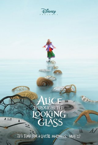 Alice Through The Looking Glass: il poster dedicato ad Alice