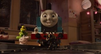 Thomas the Tank Engine in Ant-Man