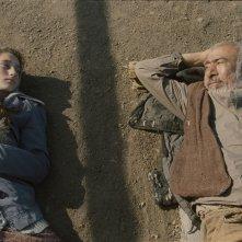 Corn Island: Mariam Buturishvili e Ilyas Salman in un'immagine del film