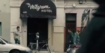 The Milgrom Hotel in Ant-Man