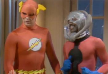 Garrett Morris nei panni di Ant-Man