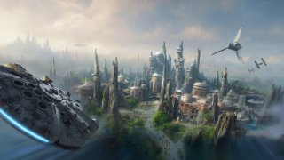 Star Wars Land: concept art dell'attrazione dei parchi Disney