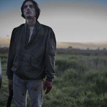 Non essere cattivo: Luca Marinelli in una suggestiva e inquietante immagine dell'ultimo film diretto da Claudio Caligari