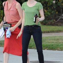 La La Land: Emma Stone sul set del film