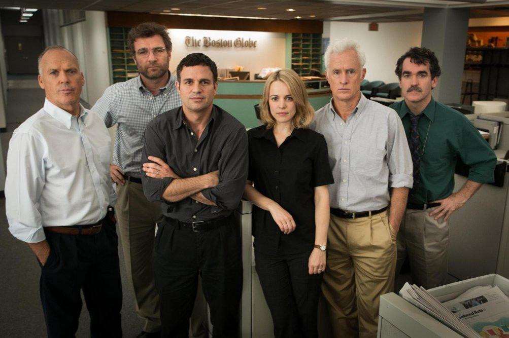 Spotlight: un'immagine promozionale del cast