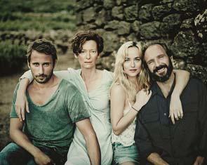 A Bigger Splash: il cast in un'immagine promozionale
