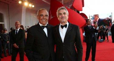Alfonso Cuaron y Alberto Barbera en Venecia 2013