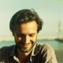 Banat (Il viaggio): il regista Adriano Valerio in un'immagine scattata durante le riprese del film