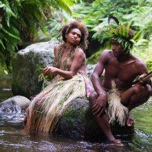 Tanna: i due protagonisti in un'immagine del film