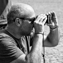 La prima luce: il regista Vincenzo Marra al lavoro sul set