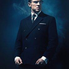Legend: il poster che ritrae Tom Hardy nel ruolo di Ronnie Kray