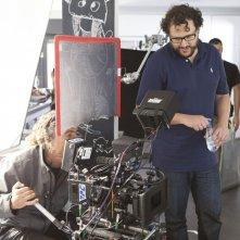 Retribution: il regista Dani de la Torre sul set