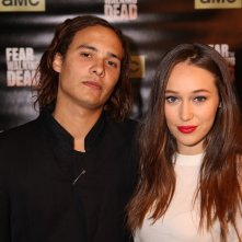 Fear the Walking Dead: Frank Dillane e Alycia Debnam-Carey al junket americano della serie
