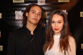 Fear the Walking Dead: Frank Dillane e Alycia Debnam-Carey al junket americano della serie