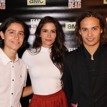 Fear the Walking Dead: Frank Dillane, Lorenzo James Henrie e Mercedes Mason al junket americano della serie