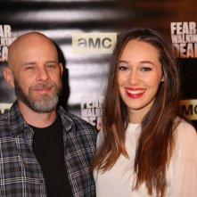 Fear the Walking Dead: il produttore Dave Erickson con Alycia Debnam-Carey al junket americano della serie