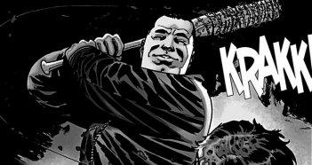 The Walking Dead, un'immagine di Negan