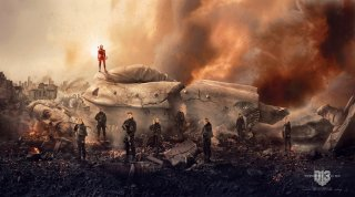 Hunger Games: Il Canto della Rivolta - Parte 2: un nuovo banner dell'ultimo capitolo della saga