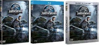 Le cover homevideo di Jurassic World