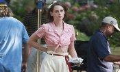 Kristen Stewart sul set del nuovo film di Woody Allen