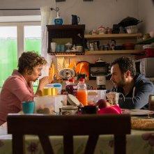 Per amor vostro: Valeria Golino in compagnia di Massimiliano Gallo durante un momento del film