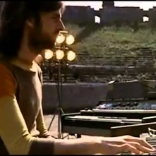 Pink Floyd: Live at Pompeii, Richard Wright in un'immagine tratta dal documentario