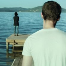 The Endless River: i due protagonisti del film in una suggestiva immagine che li ritrae di spalle