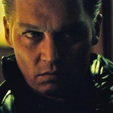 Black Mass - L'ultimo gangster: un inquietante espressione di Johnny Depp
