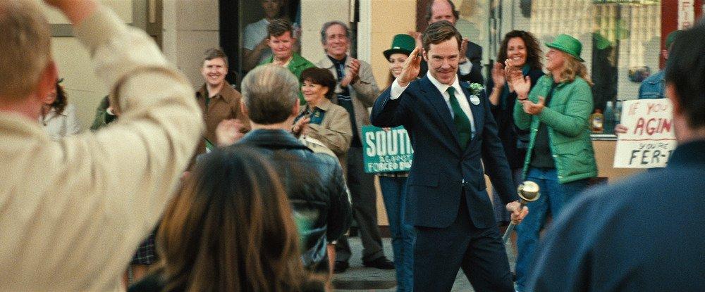 Black Mass - L'ultimo gangster: Benedict Cumberbatch in un fotogramma del film