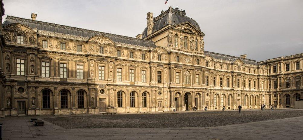 Francofonia: un'immagine del Louvre tratta dal film di Sokurov