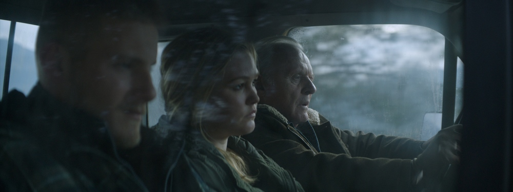 Go with Me: Anthony Hopkins in macchina con Julia Stiles e Alexander Ludwig