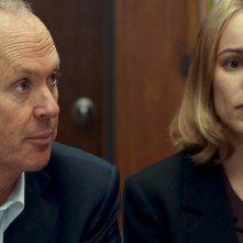 Il caso Spotlight: Michael Keaton e Rachel McAdams in un'immagine del film