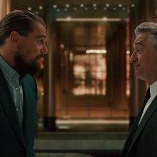 The Audition: De Niro e DiCaprio in un fotogramma del cortometraggio