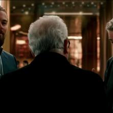 The Audition: Martin Scorsese (di spalle) con Leonardo DiCaprio e Robert De Niro in un'immagine del cortometraggio