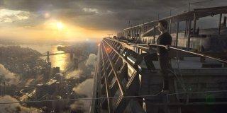 The Walk: Joseph Gordon-Levitt molto concentrato in un momento del film