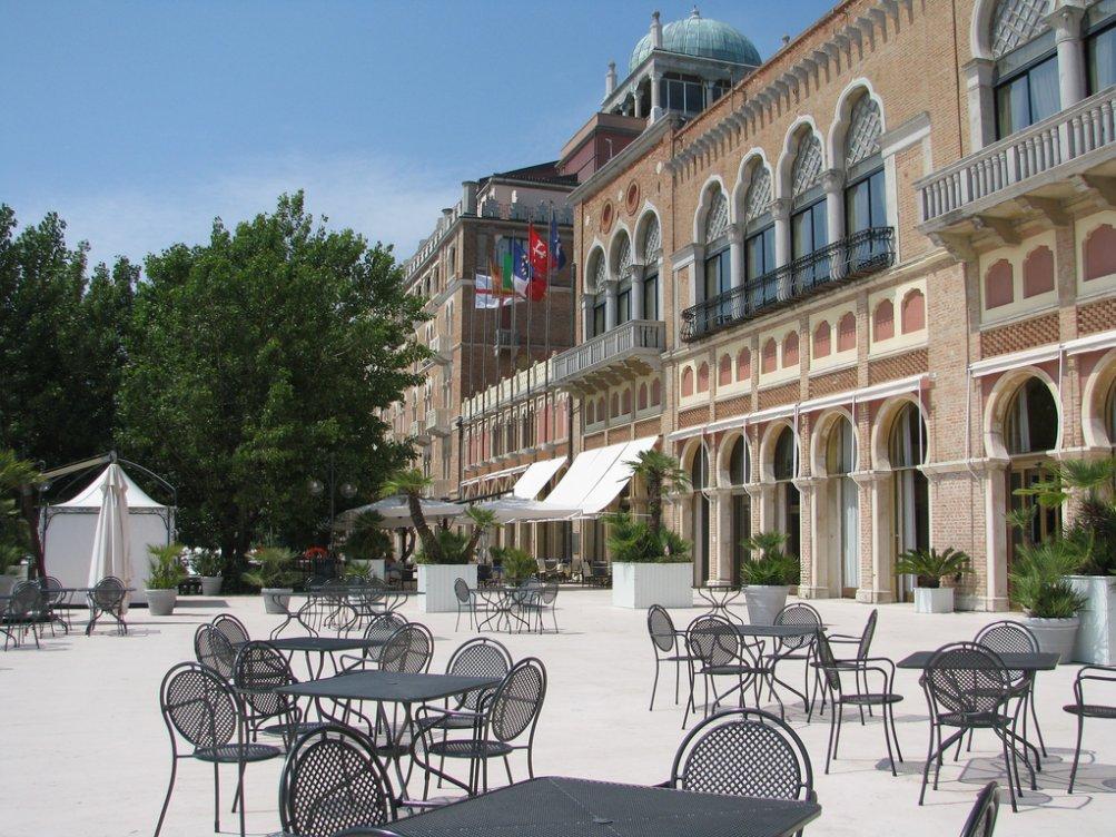 L'Hotel Excelsior al Lido di Venezia