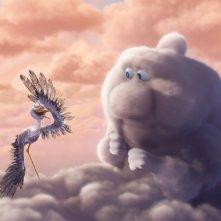Parzialmente nuvoloso: un'immagine del corto Pixar