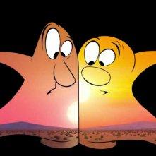 Quando il giorno incontra la notte: una scena del corto Pixar