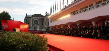 Il red carpet al Lido di Venezia