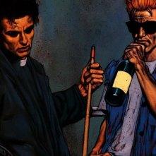 Lucifer: un immagine del fumetto da cui è tratta la serie