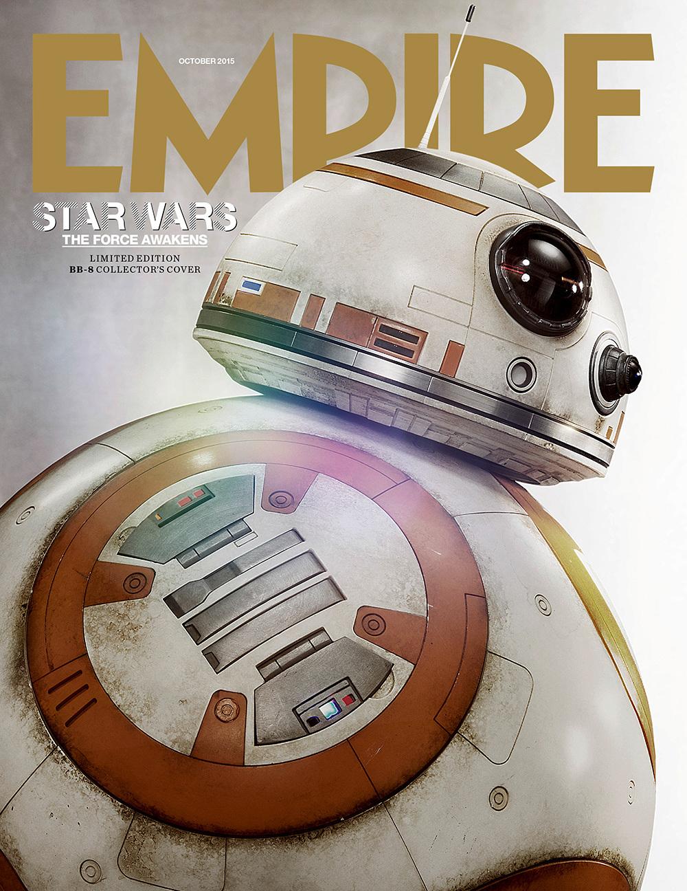 Star Wars: Episodio VII - Il Risveglio della Forza - La copertina di Empire dedicata a BB-8